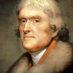 Americans have had a taste for fine wines since colonial times. Thomas Jefferson is known to have been a connoisseur. Image courtesy of Wikimedia Commons.