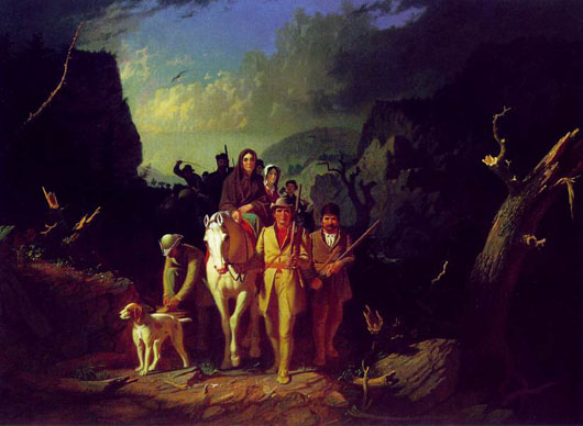, Dealer claims unsigned paintings are by George Caleb Bingham