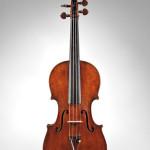 Italian violin, Stefano Scarampella, Mantua, 1917, bearing the maker's label. Estimate $30,000-$40,000. Image courtesy of Skinner Inc.
