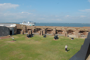The Confederacy attacked Fort Sumter on Friday, April 12, 1861 at 4:30 a.m., marking the start of the Civil War. The site located in Charleston Harbor in South Carolina is a national monument. This work is licensed under the Creative Commons Attribution-ShareAlike 3.0 License.
