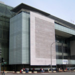 The Newseum is located at 555 Pensylvania Ave. NW in Washington. Image by David Monack. This file is licensed under the Creative Commons Attribution-Share Alike 3.0 United States license.