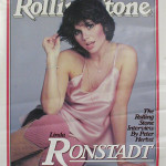Linda Ronstadt on the cover of the 'Rolling Stone.' Image courtesy of LiveAuctioneers Archive and The Last Moving Picture Co.
