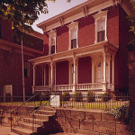 Gen. William T. Sherman's childhood home in Lancaster, Ohio. Built in 1811, it is now the Sherman House Museum. Image courtesy of Wikimedia Commons.