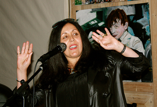 Poly Styrene (1957-2011), best known as the singer for '70s punk band X-Ray Spex. Photo by Mephisto, licensed under the Creative Commons Attribution 2.0 Generic license.