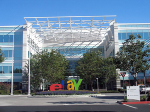 EBay Inc.'s North First Street satellite office campus in San Jose, Calif., which is home to PayPal and several other eBay divisions. Photo by Coolcaesar. Licensed under the GNU Free Documentation License.