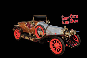 Original Hero road-going 'GEN 11' car from the classic 1968 film Chitty Chitty Bang Bang, est. $1,000,000-$2,000,000. Image courtesy of Profiles in History.