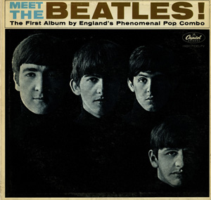 Capital Records released 'Meet the Beatles!' on Jan 20, 1964. Image courtesy of Case Antiques Inc. Auction & Appraisals.