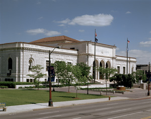 The DIA is housed in this 1927 Beaux-Arts building by Paul Cret. Image courtesy of the Detroit Institute of Arts.