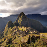 Huayna Picchu towers above the ruins of Machu Picchu, a UNESCO World Heritage Site. June 27, 2009 photo by Martin St-Amant, licensed under the Creative Commons Attribution-Share Alike 3.0 Unported license.