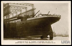 Belfast cheers 100th anniversary of Titanic launch