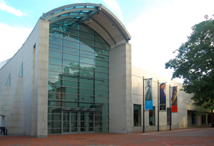The main entrance to the Peabody Essex Museum, the nation's oldest continuously operated museum. Image courtesy of Wikimedia Commons.