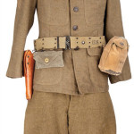 This U.S. Army uniform was worn by Gary Cooper in his Academy Award-winning role as Alvin C. York in Sergeant York. Pre-auction estimates are $20,000 – $30,000. Image courtesy of Profiles in History.