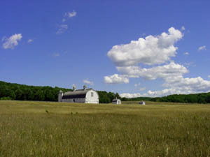 Historic D.H. Day Farm is part of the Sleeping Bear Dunes National Lakeshore park near Glen Arbor, Mich. This file is licensed under the Creative Commons Attribution-Share Alike 2.5 Generic license.