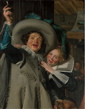 Frans Hals (Antwerp, 1582/83-1666), Young Man and Woman in an Inn, 1623, oil on canvas, The Metropolitan Museum of Art, Bequest of Benjamin Altman, 1913.