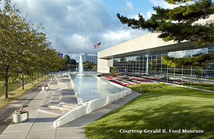 Image courtesy of The Gerald R. Ford Presidential Museum in Grand Rapids, Michigan.