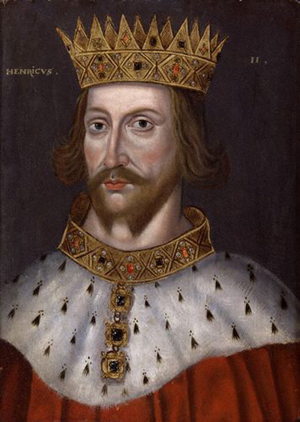 King Henry II, unknown artist, oil on panel, circa 1620, 22 1/2 in. x 16 1/2 in. (571 mm x 418 mm) uneven. Purchased 1974. NPG 4980(4). Copyrighted image courtesy of National Portrait Gallery.