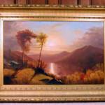 Clinton Loveridge (Amer./Hudson River school, 1824-1915), October Afternoon on the Hudson, est. $10,000-$20,000. Image courtesy of Blanchard's Auction Service.