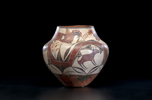 , Ceramics Collector: Decorated pottery from N.M.'s Acoma Pueblo