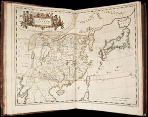 Joannes Blaeu's 'Novus Atlas' sold to LiveAuctioneers bidder from China for $27,000. PBA Galleries image.
