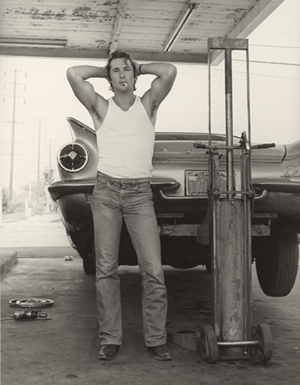 Herb Ritts (American, 1952 - 2002), Richard Gere, San Bernardino, 1977, Gelatin silver print, Dimensions: Image: 50.8 x 40.6 cm (20 x 16 in.), Framed: 76.2 x 63.5 cm (30 x 25 in.), Accession No. 2011.18.20, Copyright: © Herb Ritts Foundation, Credit: The J. Paul Getty Museum, Los Angeles, Gift of Herb Ritts Foundation.