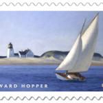 Edward Hopper painted 'The Long Leg' circa 1930. Image courtesy of USPS.