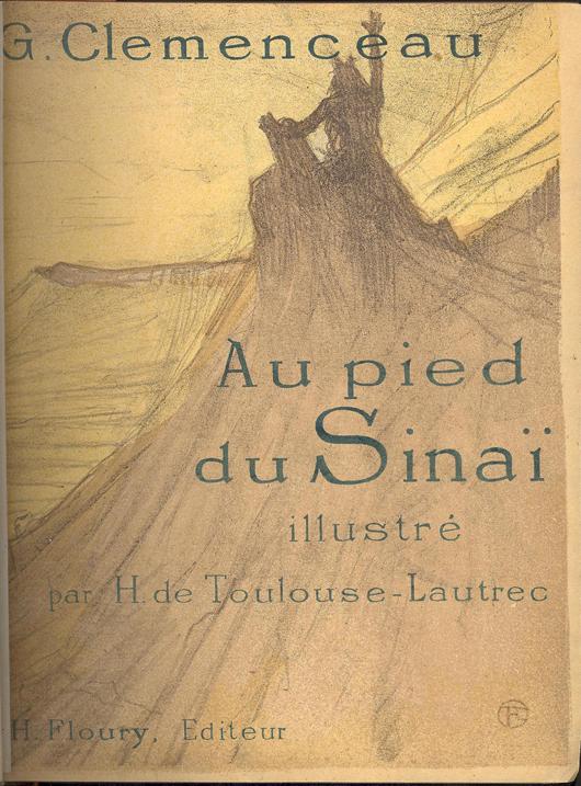 G. Clemenceau, 'Au Pied Du Sinai,' Association Copy. Estimate $4,000-$6,000. Image courtesy of Leighton Galleries.