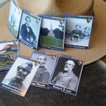Civil War trading card set from Gettysburg National Military Park. National Park Service photo by Katie Lawhon.