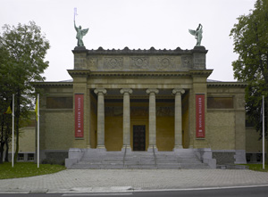 Scene of the theft, the Museum of Fine Arts in Ghent, Belgium.