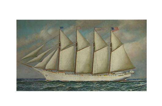 Original oil on board by Antonio Nicolo Gasparo Jacobsen, 1918. Estimate: $15,000-$25,000. Image courtesy of Crescent City Auction Gallery.
