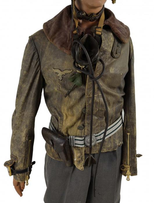 German Luftwaffe flight suit. Estimate: $850-$1,150. Image courtesy of Morton Kuehnert Auctioneers.