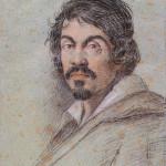 Chalk portrait of Caravaggio by Ottavio Leoni, circa 1621. Image courtesy of Wikimedia Commons.