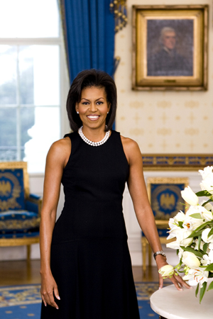 First Lady Michelle Obama. Image courtesy of Wikimedia Commons.