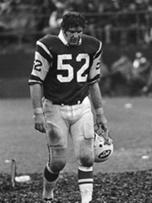 John Schmitt played 10 seasons for the New York Jets and twice was a Pro Bowl selection. Image courtesy of NewYorkJets.com.
