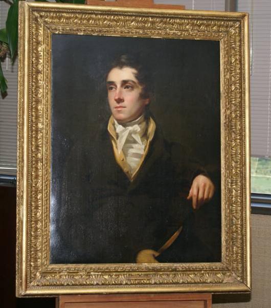 'Portrait of a Man' by Sir Henry Raeburn.