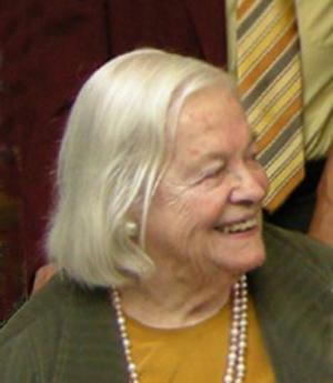 Hella Haasse in a 2007 photo. Image courtesy of Carl Koppeschaar and Erik Baas at nl.wikipedia.