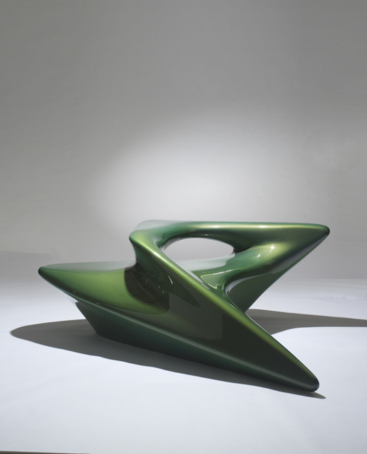 Bon A Gyre Lounge Chair From The Seamless Collection, Part Of A Morphological  Furniture Series By