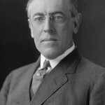 Woodrow Wilson, 28th President of the United States. Library of Congress photo.