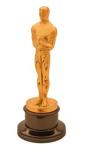 The ultimate award in motion pictures is the Oscar statuette, which is the copyrighted property of the Academy of Motion Picture Arts and Sciences. The statuette and the phrases