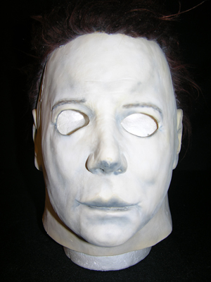 From John Carpenter's 1978 horror classic film 'Halloween,' a one of a kind replica of Michael Myers' mask. Premiere Props image.