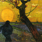 Van Gogh's 'Sower with Setting Sun,' which he painted in 1888, two years before his death. Image courtesy of Wikipaintings.org.