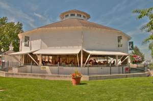 Another famous carousel made by Philadelphia Toboggan Co. is the 1906 Kit Carson County Carousel in Burlington, Colo. Image courtesy of Wikimedia Commons.