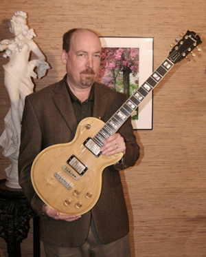 Pete Prown, with his Ibanez Professional. Image courtesy of Pete Prown.