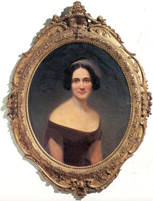 Portrait of Mary Boykin Chestnut. Image courtesy of Wikimedia Commons.