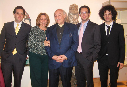 The I.M. Chait family consists of (from left) Joshua, Mary Ann, Isadore 'Izzy,' Joey and Jake. Image courtesy of I.M. Chait.