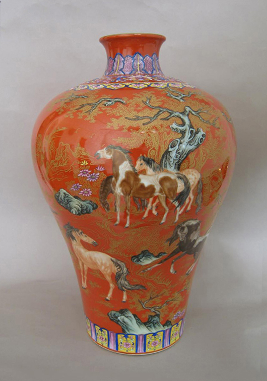 A highlight from one of Hong Kong Auction Gallery's past sales. Image courtesy of Hong Kong Auction Gallery.