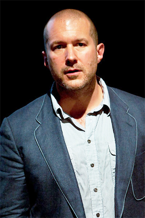 Jonathan Ive in a photo taken at the April 16, 2009 London premiere of Gary Hustwit's documentary 'Objectified.' Photo by Gary Cohen, licensed under the Creative Commons Attribution-Share Alike 2.0 Generic license.
