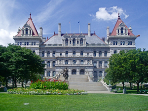 The exhibit of artifacts will be on display at the New York Capitol in Albany.This file is licensed under the Creative Commons Attribution-Share Alike 3.0 Unported license.
