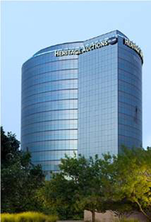 Heritage Auctions' headquarters are located on the 17th floor, 3500 Maple Avenue in Dallas. Image courtesy of Heritage Auctions.