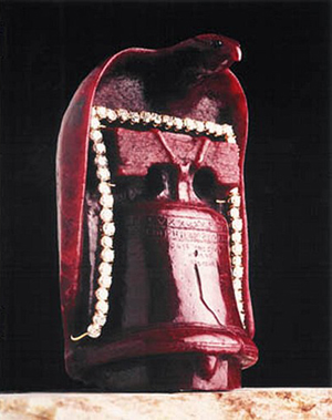 FBI joins search for $2M Liberty Bell ruby sculpture