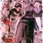 Camille Pissarro (French, 1830-1903), Le Marche aux Poissons.